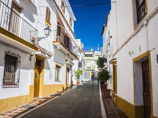 Ruas de Marbella, Espanha