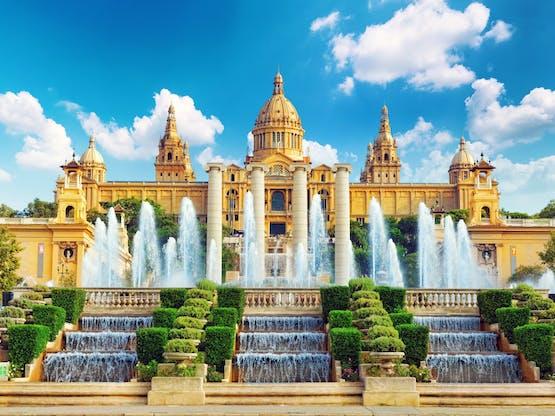 Museu Nacional em Barcelona, Espanha