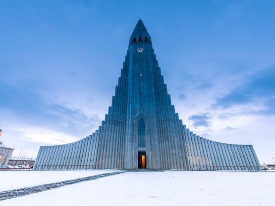 Catedral Hallgrimskirkja, Reykjavik. Islândia