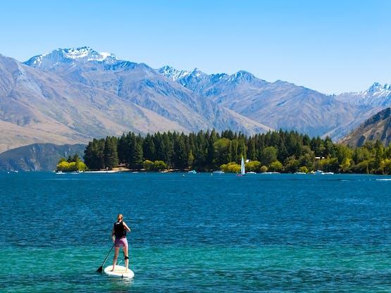 Lago Wanaka, Queenstown. Nova Zelândia