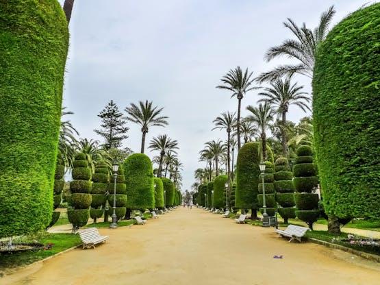 Parque Genovés. Cádiz, Espanha