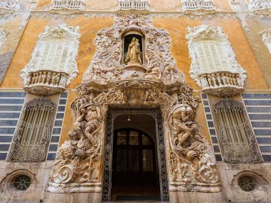 Palácio Marques de Dos Aguas. Valência, Espanha