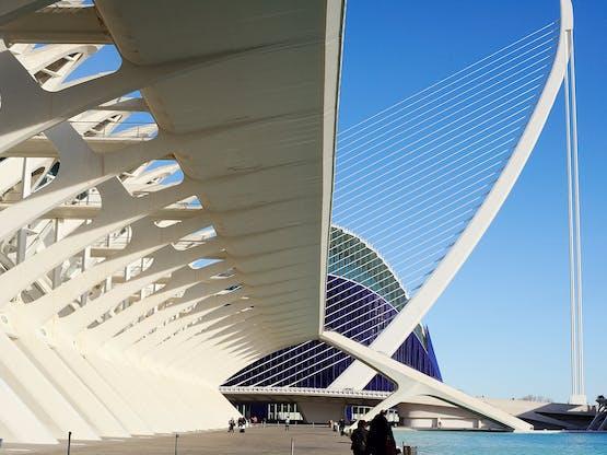 Cidade das Artes e das Ciências. Valência, Espanha