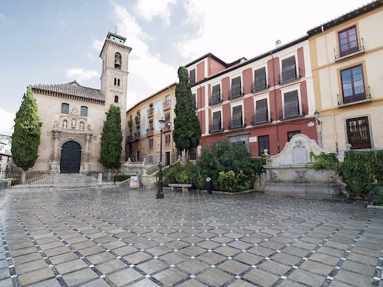 Plaza Nueva. Granada, Espanha