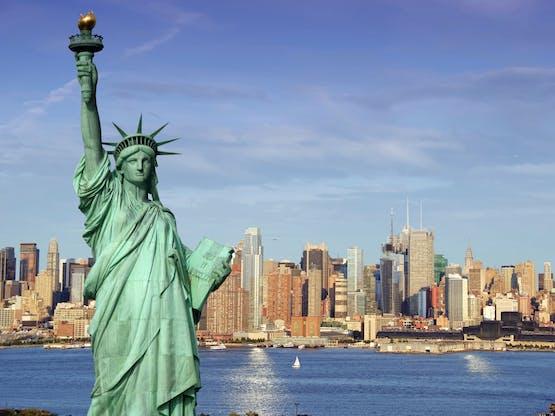 Estátua da Liberdade. Nova York, EUA
