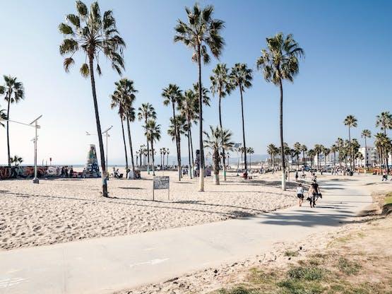 Venice Beach. Los Angeles, EUA