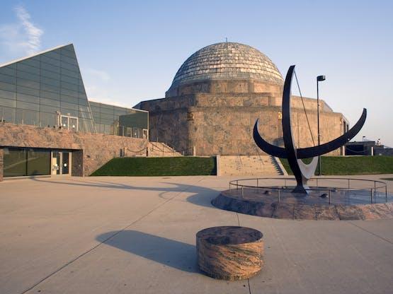 Adler Planetarium. Chicago, EUA