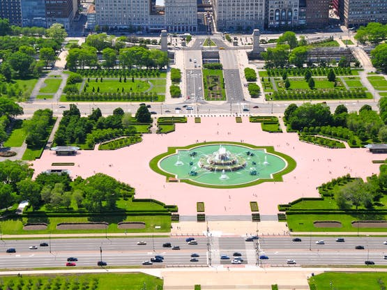 Grant Park. Chicago, EUA