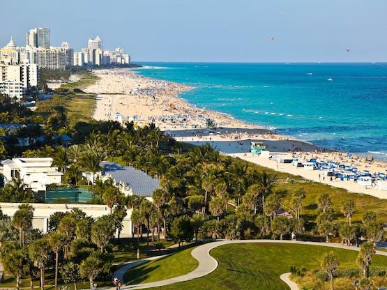 South Beach. Miami, EUA