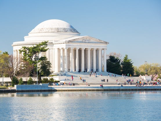 Thomas Jefferson Memorial. Washington DC, EUA