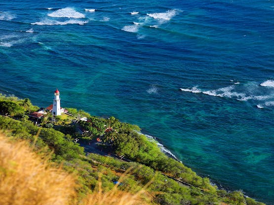 Farol Diamond Head. Honolulu, Hawaii
