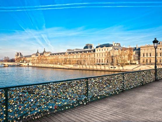 Pont des Arts. Paris, França