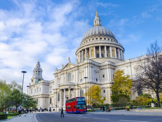 Catedral St. Paul. Londres, Inglaterra