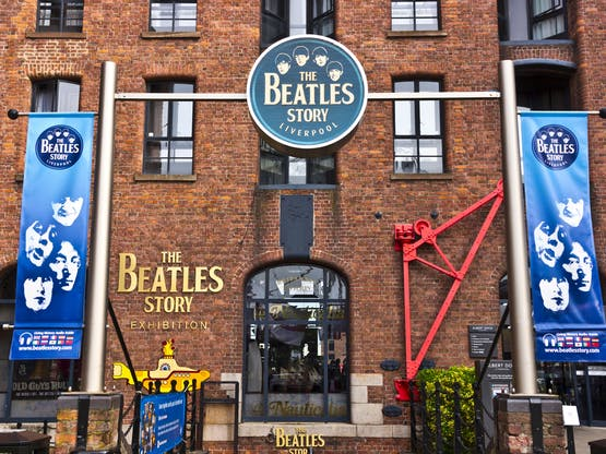Museu The Beatles Story. Liverpool, Inglaterra