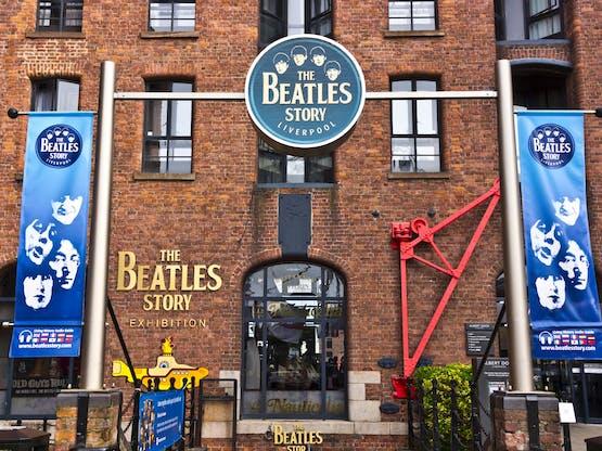 Museu The Beatles Story. Liverpool, Inglaterra