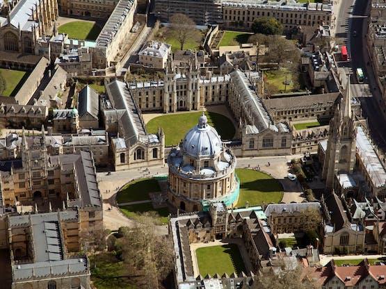 Oxford University. Oxford, Inglaterra