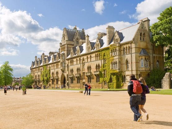 Christ Church college. Oxford, Inglaterra