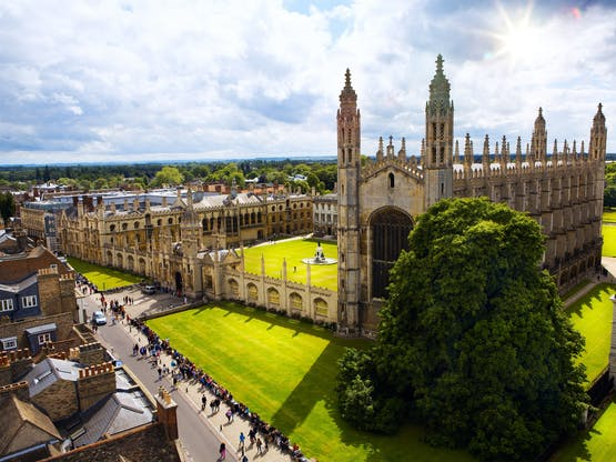 King's College Chapel. Cambridge, Inglaterra