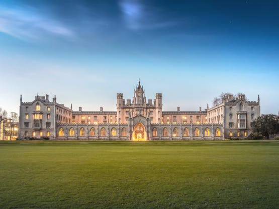 St John's College. Cambridge, Inglaterra