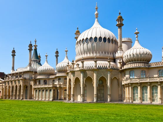 Residência Real Royal Pavillion. Brighton, Inglaterra