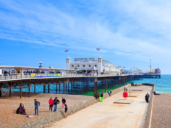 Intercâmbio Inglaterra - Brighton Pier.