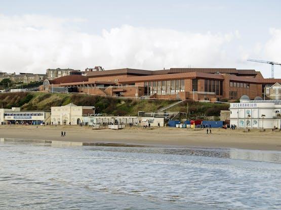 The International Centre. Bournemouth, Inglaterra