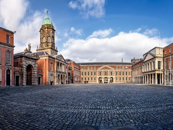 Castelo de Dublin. Dublin, Irlanda