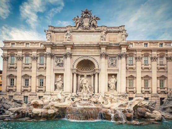 Fontana di Trevi. Roma, Itália