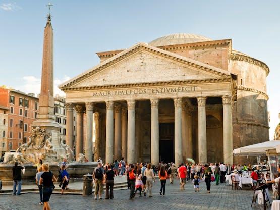Pantheon. Roma, Itália