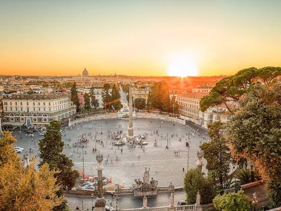Piazza del Popolo. Roma, Itália
