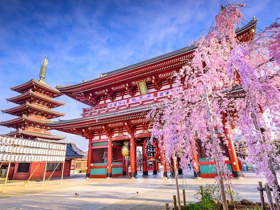 Templo Senso-ji. Tóquio, Japão