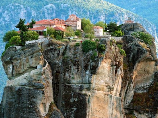 Monastério em Meteora, Grécia