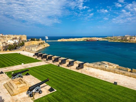 Forte Lascaris. Valeta, Malta