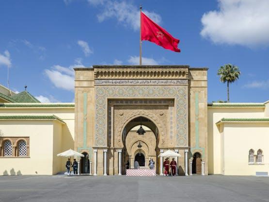 Palácio Real. Rabat, Marrocos