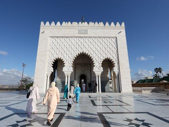 Mausoléu de Mohammed V. Rabat, Marrocos