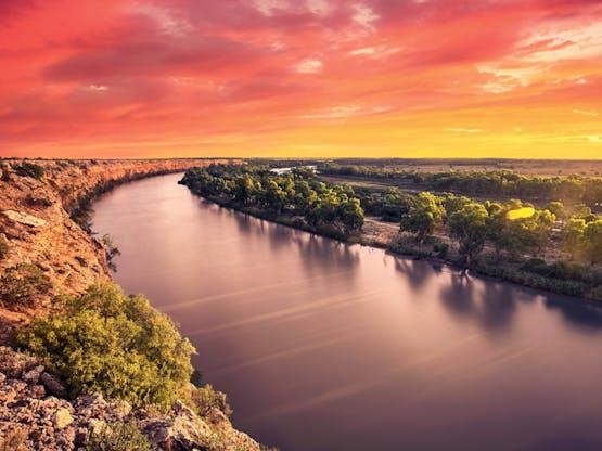 Rio Murray. Austrália