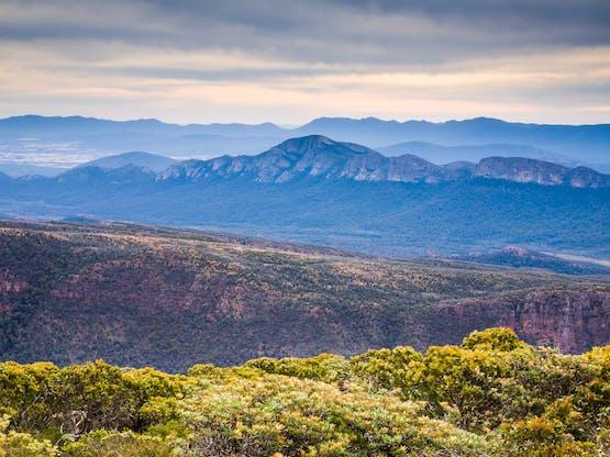 Vista da Mount William, Parque Nacional Grampians