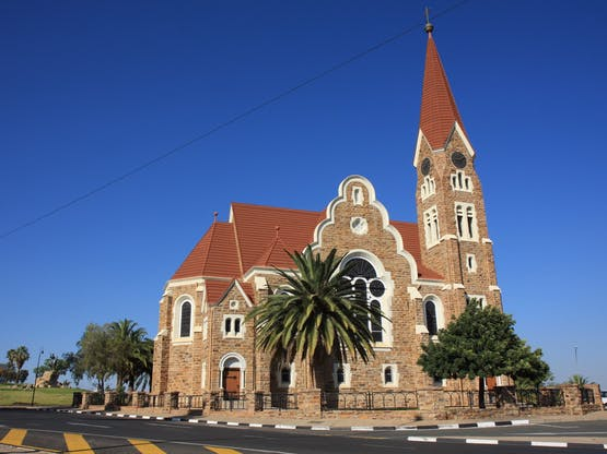 Christ Church. Windhoek, Namíbia