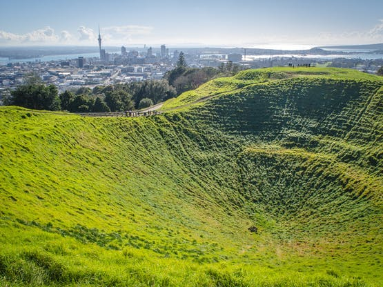 Mount Eden. Auckland, Nova Zelândia