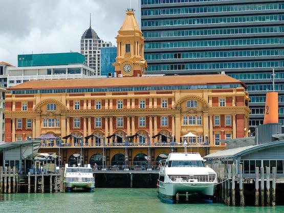 Porto de Auckland, Nova Zelândia