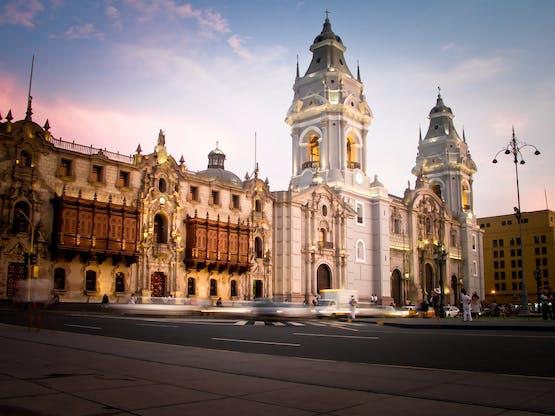 Plaza de Armas. Lima, Peru