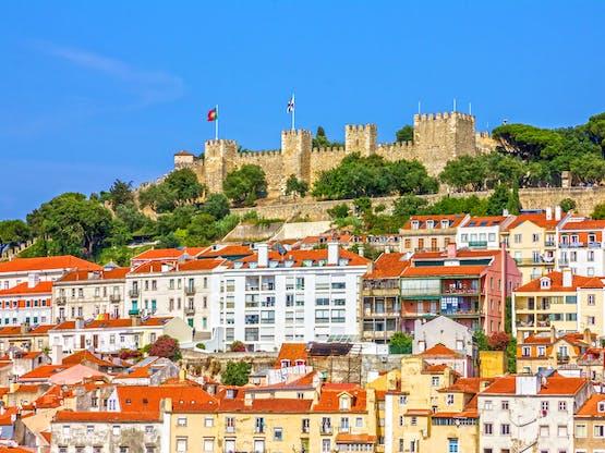 Intercâmbio Portugal - Castelo de São Jorge. Lisboa, Portugal