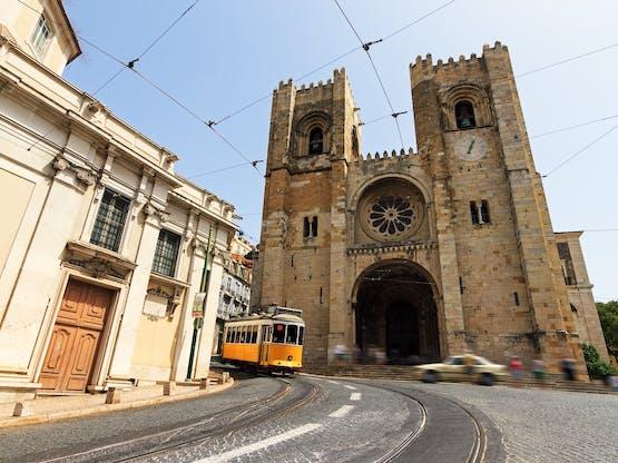 Catedral de Lisboa. Lisboa, Portugal