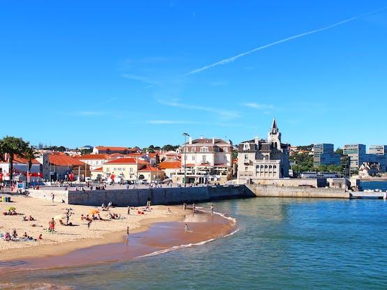 Praia de Cascais. Lisboa, Portugal