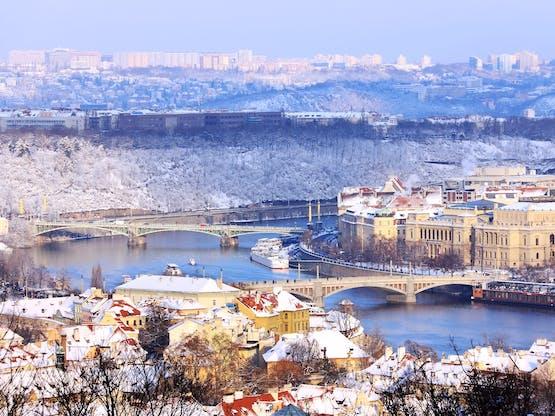 Inverno em Praga, República Tcheca