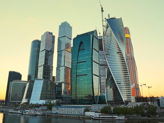 Moscow International Business Center. Moscou, Rússia