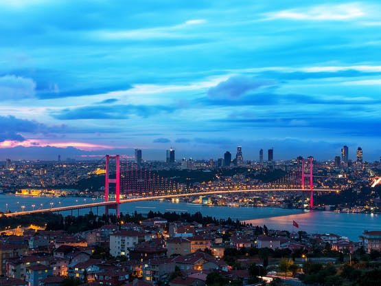 Ponte Bosphorus. Istambul, Turquia