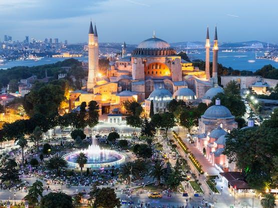 Basílica de Santa Sofia. Istambul, Turquia