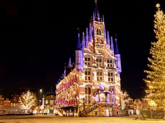 Natal em Gouda, Holanda