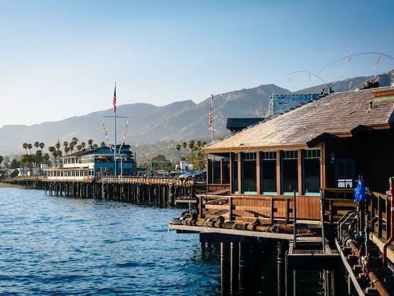 Stearn's Wharf. Santa Bárbara, EUA